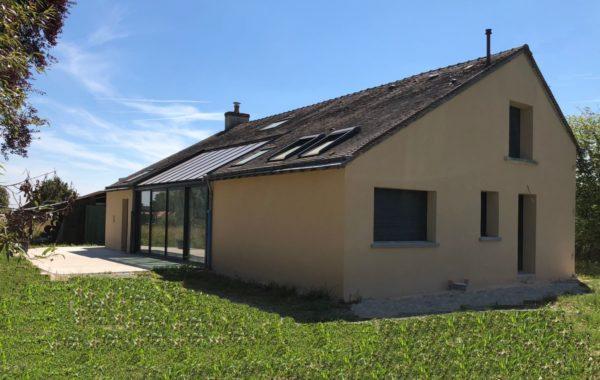 Rénovation maison avec verrière